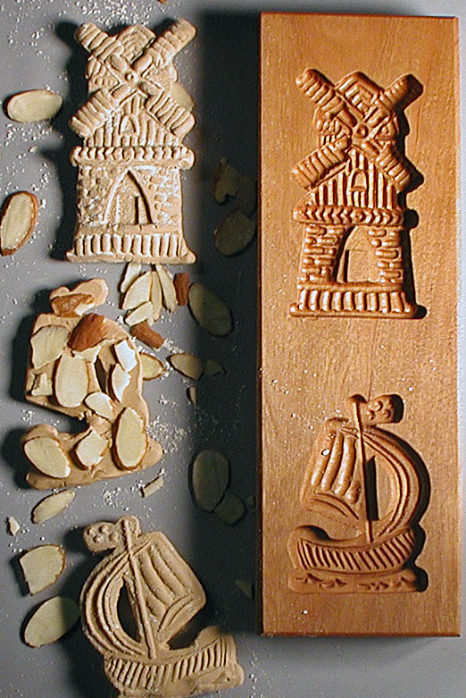Speculaas Cookie Molds for shaping Dutch-style Cookies