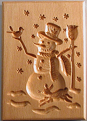 Single Design Springerle Boards Hand Carved