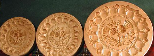 Scottish Thistle Shortbread Molds
